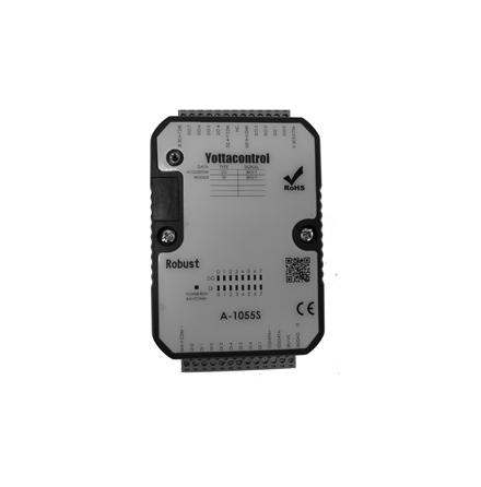 PLC expansionsmodul med 8I/8O, utgångar plussignal (SOURCE)