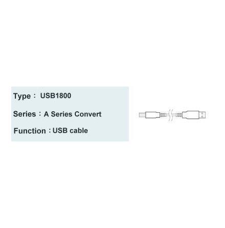 USB-kabel för anslutning till A-1521U