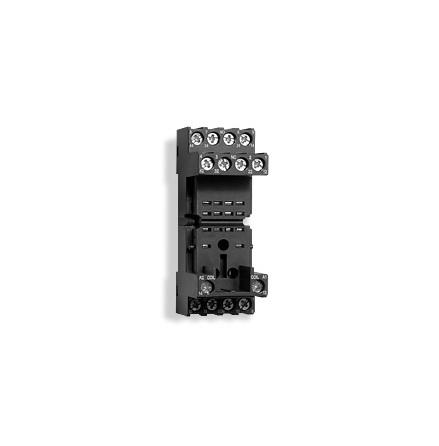 Reläsockel ES15/4N 4-polig, 2 moduler