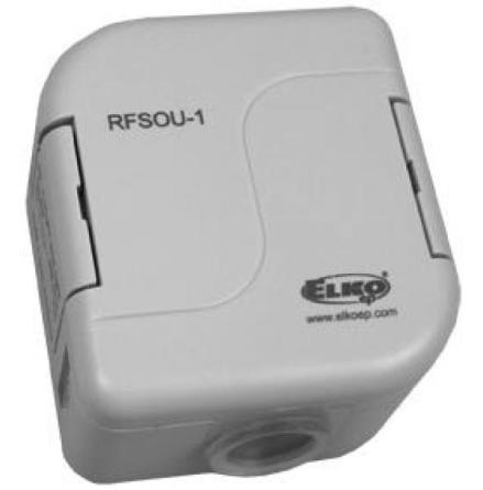 RFSOU-1, trådlöst skymningsrelä, IP65