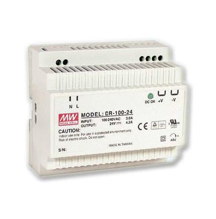 Spänningsaggregat switchat, 100 W, 4,2 A