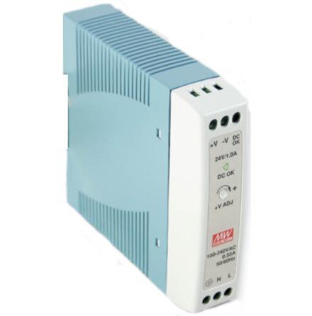 Spänningsaggregat switchat, 230VAC/24VDC, 20 W, 1 A