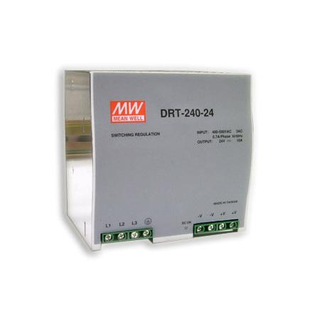 Spänningsaggregat switchat, 240 W, 10 A, 3-fas