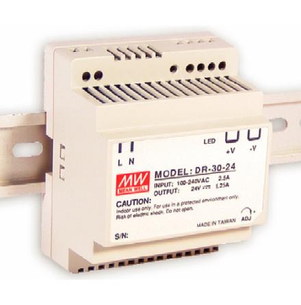 Spänningsaggregat switchat, 30 W, 1,5 A