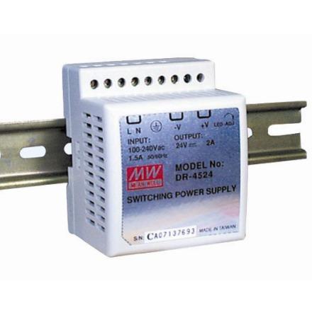 Spänningsaggregat switchat, 45 W, 2 A