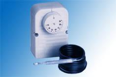 Termostat kapillär F2000, -35.+35C, kapslad, 16A