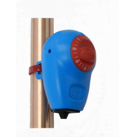 Termostat kapillär för rör, 0.+90C, kapslad, 16A