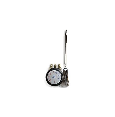 Termostat kapillär för inbyggnad, +30/+90 C