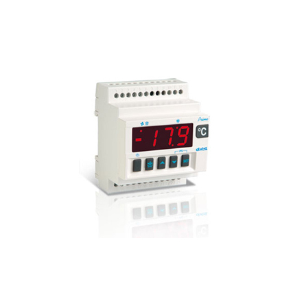 Termostat kyl, 20A, DIN-montage, NTC, 230VAC