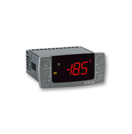 Termostat med stoppavfrostning, 8A, HOT KEY, 230VAC
