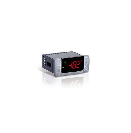 Termostat med display, 8A, kyla/värme, TTL/HOT KEY