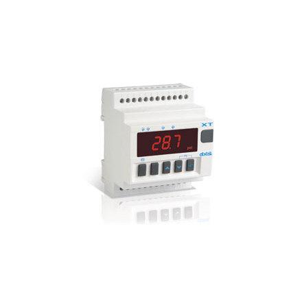 Termostat 4-stegs multi, 4 reläutgångar, PTC/NTC/PT100