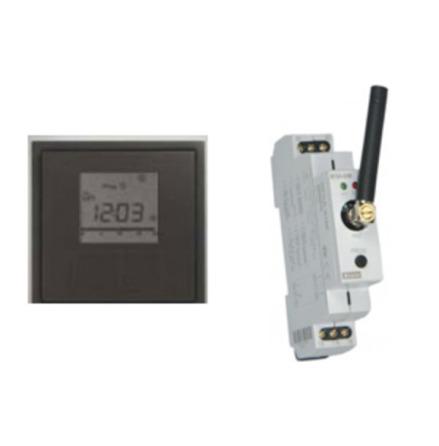 Termostatpaket bestående av trådlös termostat RFTC-10/G och relämodul RFSA-61M