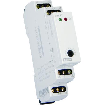 Tidrelä tillslagsfördröjt, 0,1..1s, 3 växlande kontakter, 12-240VAC/DC