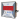Voltmeter digital, 3-siffrig, 72X72mm, 1-fas 230V, max + min.
