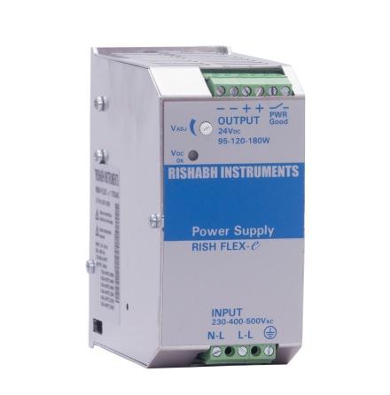 Spänningsaggregat 1-fas, 5A, 24VDC, 230VAC