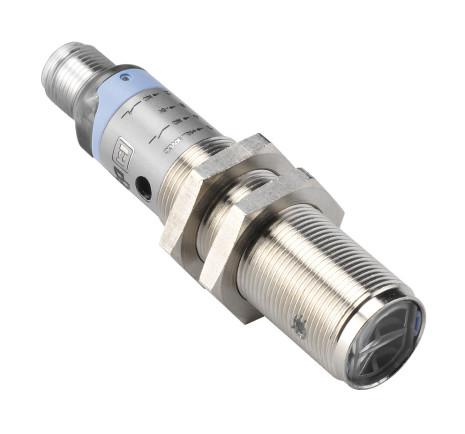 Fotocell M18x1, direktavkännande, 40cm, NPN, NO+NC, 12-30VDC