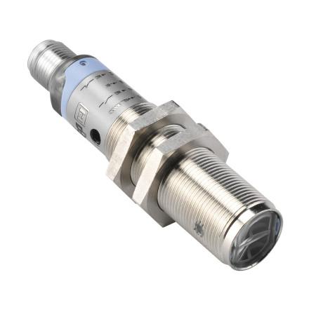 Fotocell M18x1, direktavkännande, 40cm, PNP, NO+NC, 12-30VDC, K-kontakt