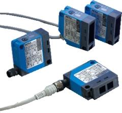 Fotocell direktavkännande, 25-100cm, PNP/NPN, NO+NC, 12-30VDC