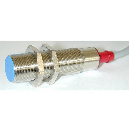 Induktiv givare M12, 2-tråds, skärmad, 10-30VDC
