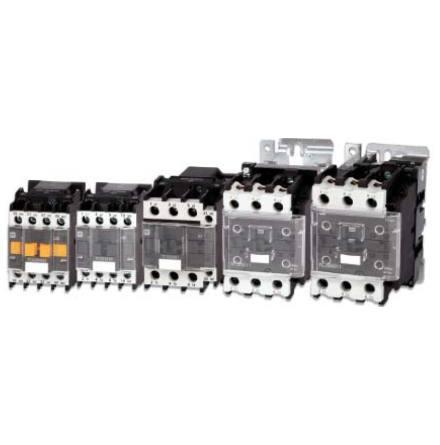 Paket 10 st kontaktorer 12A, 5,5KW, spole 230VAC