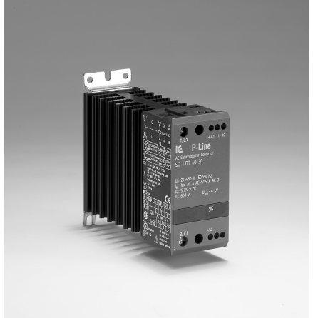 STATISK KONTAKTOR 24-480VAC, 5-24VDC 10A, 45 MM