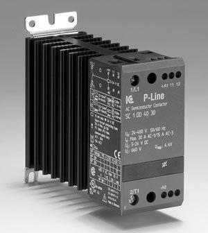 Statisk kontaktor, 400 VAC, 10A, 3-fas  AC1:10A
