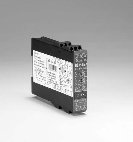 Mjukstart/stopp 1,5 kW, 440-480 VAC, 3A, 2 KONTROLL. FASER