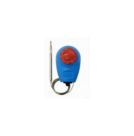 Paket, termostat kapillär, 0-90C, kapslad, växl kontakt 15A