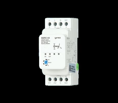 Kontrollrelä Nivå, min/max. 230VAC, reläutgång 8A, 2 moduler