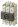 Lastbrytare, Sirco M3 3x125A, DIN-skenemontage