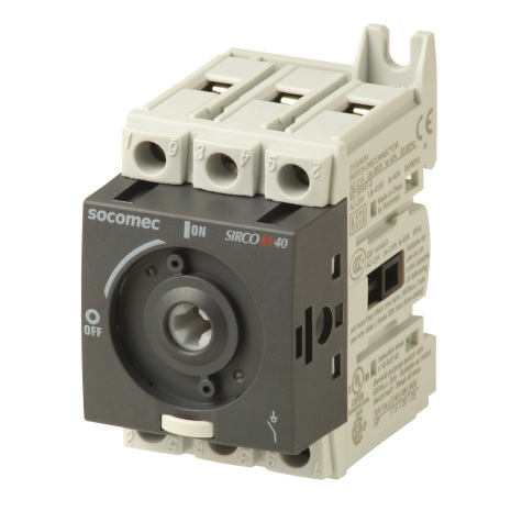 Lastbrytare 3x40A, DIN-skenemontage