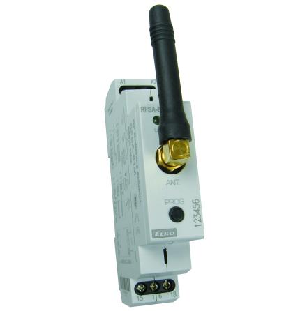 RFSA-61M, mottagare, kontrollbrytare, 1 utgång, 6 funktioner, 230VAC