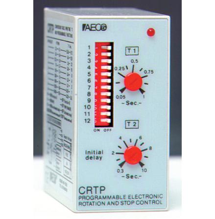 Varvtalsvakt, 0,1-2400 rpm, alarm 0,3-10 sek, 110/230VAC