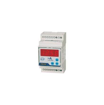 Amperemeter digital, 4-siffrig, 230VAC, 5A direkt eller med strömtrafo