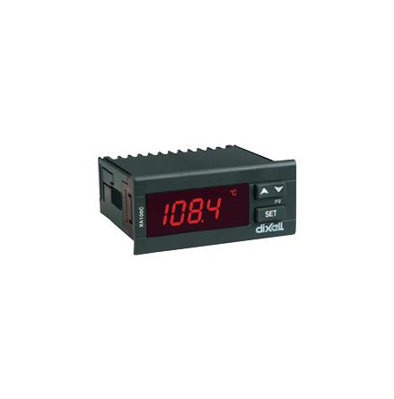 Display för panel, konfigurabel, 3 siffror, ingång 24VAC