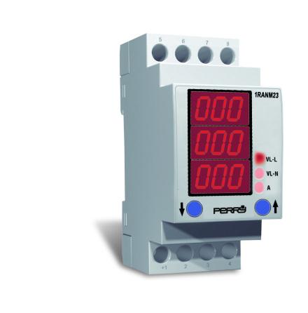Energimätare 3-fas, multifunktion, 2 moduler