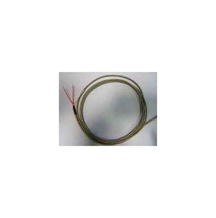 Givare PT-100, 5x50 mm, 3-ledare, 2m kabel