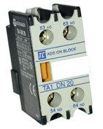 Hjälpblock 1 NO/1 NC för TC1 kontaktor