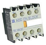 Hjälpblock 2 NO/2 NC för TC1 kontaktor