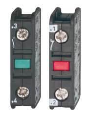 Hjälpblock HN 01, 1 NC för BENEDICT & JAEGER kontaktor