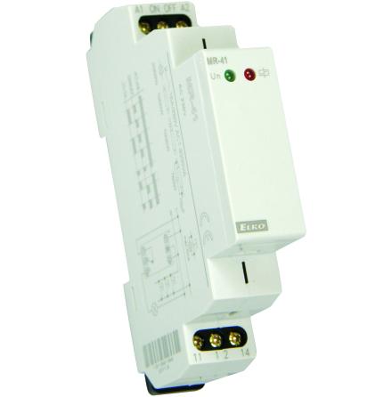 Impulsrelä med minne, 1 växlande kontakt, 16A, 12-240VAC/DC