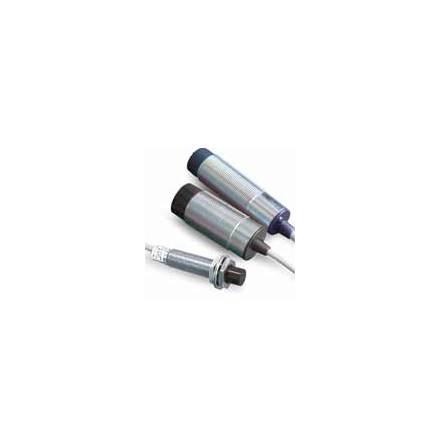 Induktiv givare M18, NO, känselavstånd 5mm, 20-250VAC, oskärmad