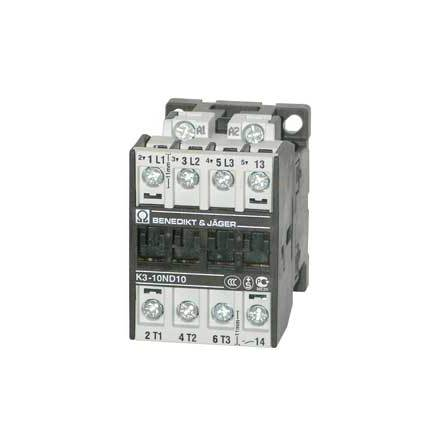 Kontaktor K3-10A10, 24VAC, 4 Kw