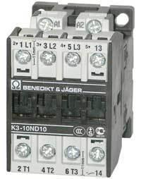 Kontaktor K3-18 A10, 7,5KW, spole 230VAC
