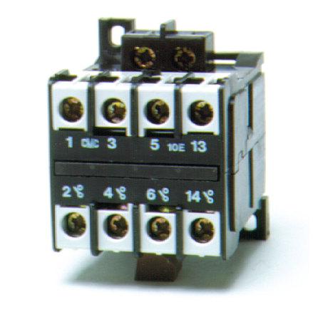 Kontaktor MOHF-10-230VAC, med flatstiftsanslutning