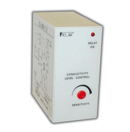 Kontrollrelä Nivå, 11-poligt, 2 växlande reläutgångar 5A, 110/230VAC