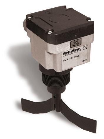 Kontrollrelä Nivå, Mekanisk paddel, 110/230VAC, växlande kontakt 2A