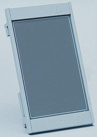 Larmpanel blind till kapsling för SOL-paneler med tomt hål