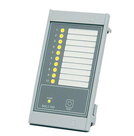 Larmpanel driftindikator SOL1.10D, 10-punkter, 24VAC/VDC